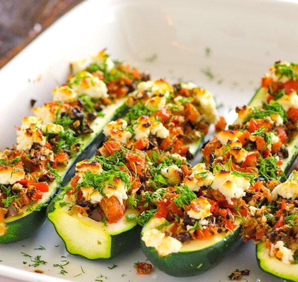 Spicy Turkey Zucchini Boats! Like a Taco without a Shell. Whatever Floats Your Boat, Right?