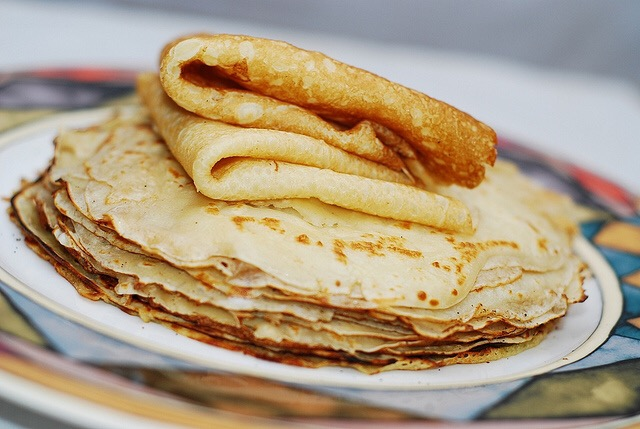 High Protein, Low Carb Almond Crepes- Have your Crepe, & Eat it too!
