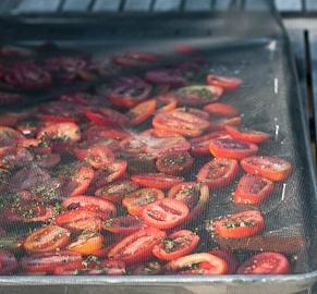 Drying Romas