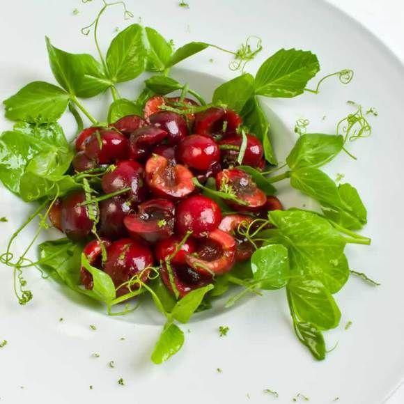 Fresh Summer Cherry Vinaigrette