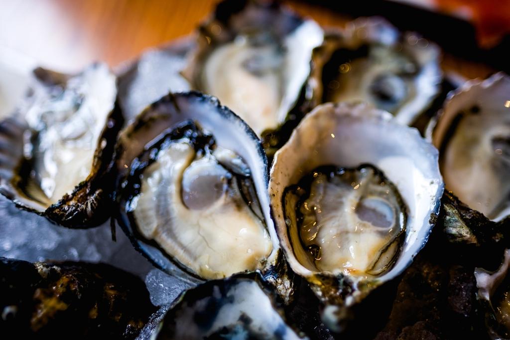 Gigi Shucking Kumomoto Oysters