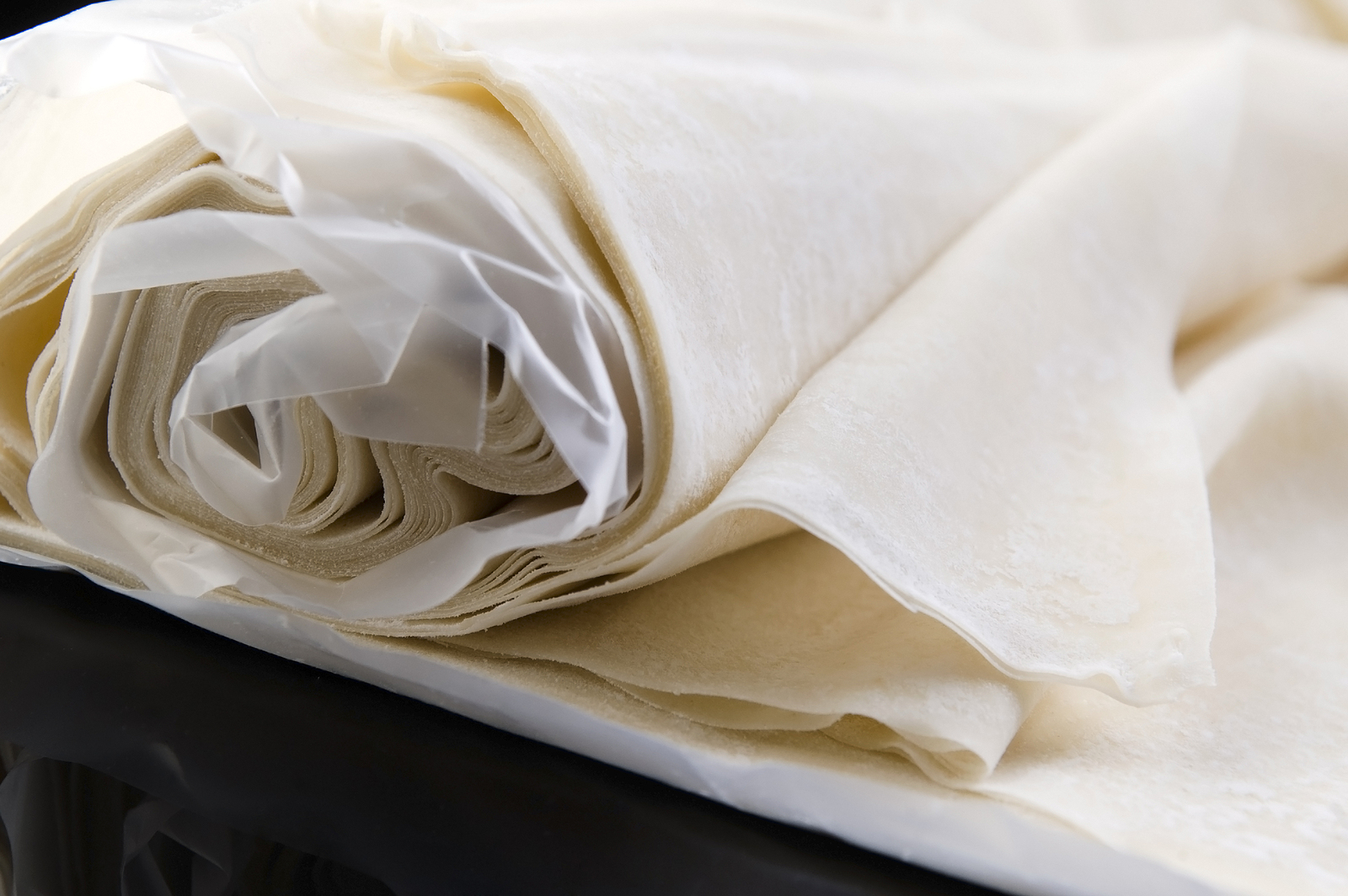 Thawed Ready Made Dough Leaves, Fillo, Phyllo Dough